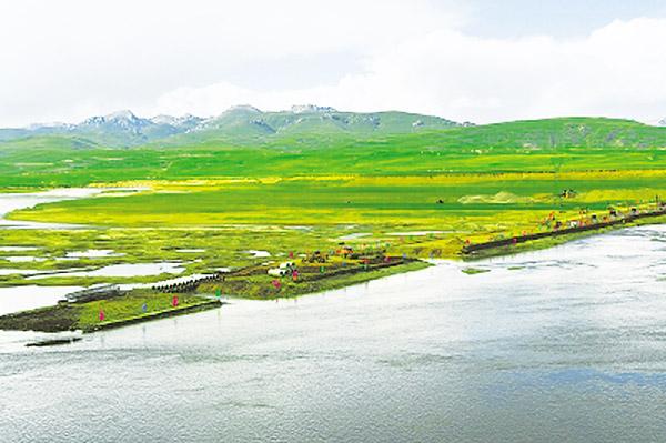 玛曲修建黄河特大桥 将联通南岸的县级公路与省际干线公路