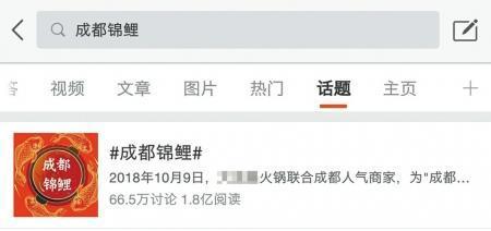 """1万成本微博涨粉28万 """"成都锦鲤""""背后的网络营销"""