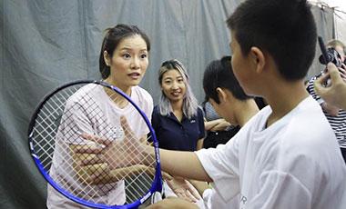 李娜即将进入国际网球名人堂 退役后致力于青少年培养