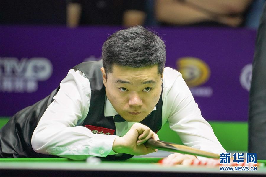 (体育)(4)斯诺克——国际锦标赛:丁俊晖晋级八强