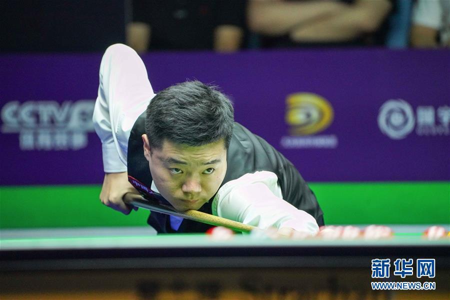 (体育)(2)斯诺克——国际锦标赛:丁俊晖晋级八强