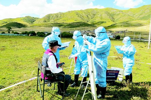 州疾控中心开展传染病疫情卫生应急演练活动