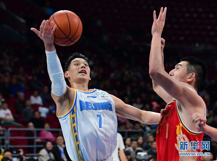 (体育)(2)篮球——CBA常规赛:北京首钢胜八一南昌