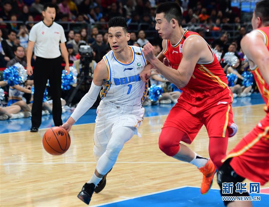 (体育)(1)篮球——CBA常规赛:北京首钢胜八一南昌