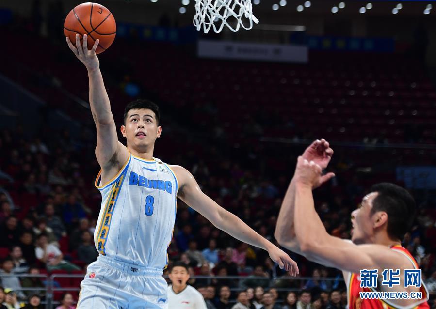 (体育)(5)篮球——CBA常规赛:北京首钢胜八一南昌