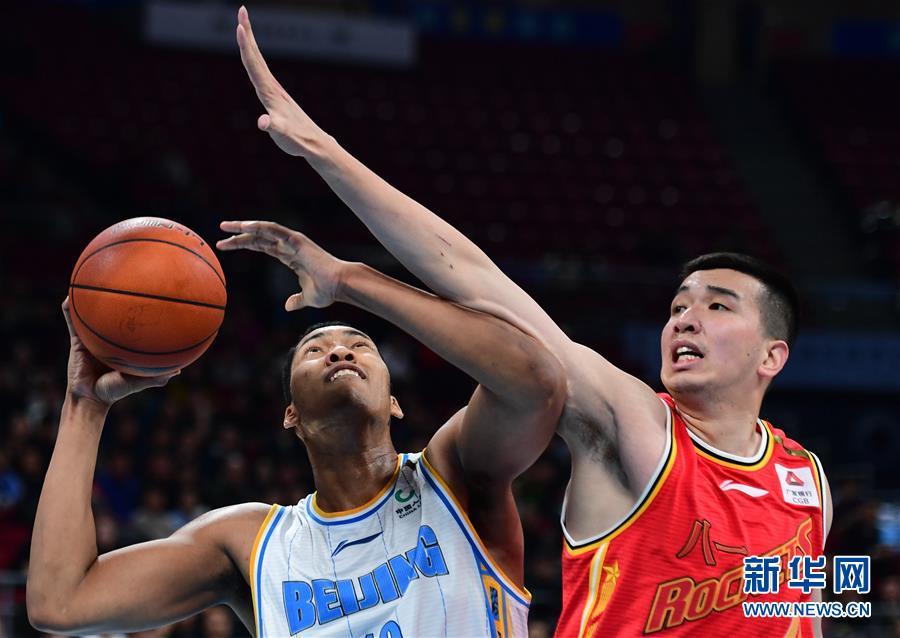 (体育)(8)篮球——CBA常规赛:北京首钢胜八一南昌