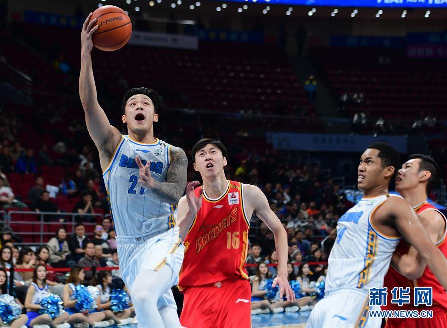(体育)(10)篮球——CBA常规赛:北京首钢胜八一南昌