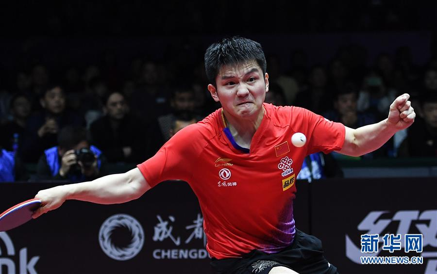 (体育)(16)乒乓球——国际乒联男子世界杯:樊振东夺冠