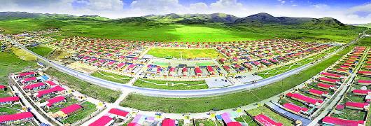 尕秀:藏家新寨的和谐之美