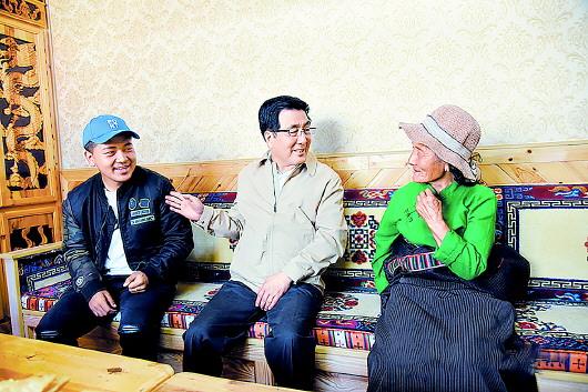 林铎在甘南州调研指导工作时强调  巩固提升脱贫成果 用心守护绿水青山让藏区群众过上更加幸福美好的生活