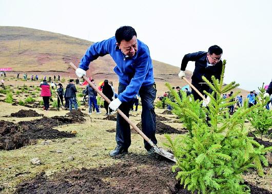 持续用力  久久为功  让绿色成为甘南永恒底色以生态文明建设新成效造福人民群众